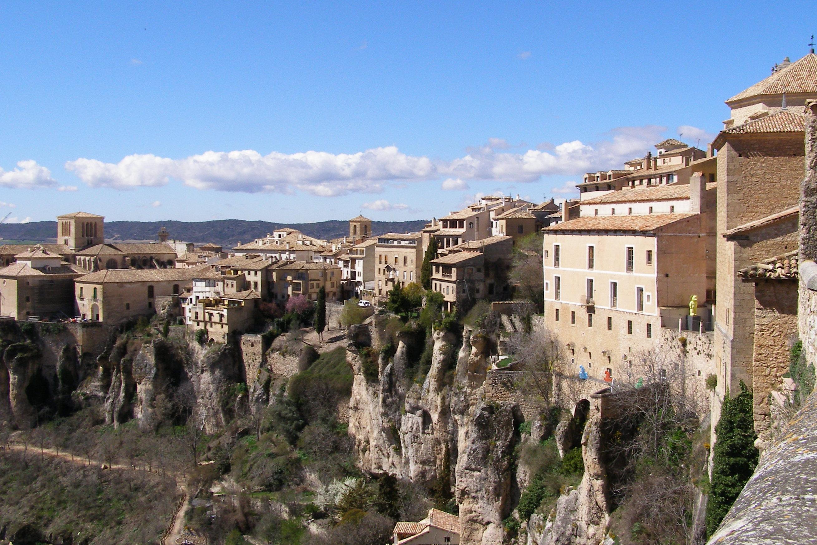 Parte alta del Casco Antiguo de Cuenca