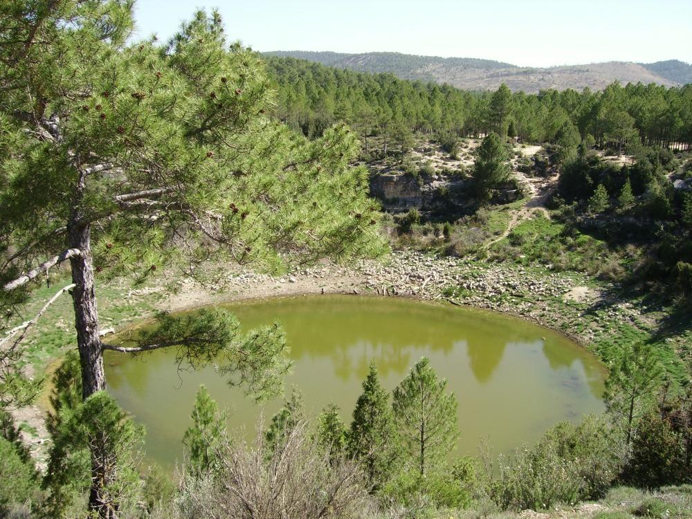 La Laguna oscura en Cañada del Hoyo