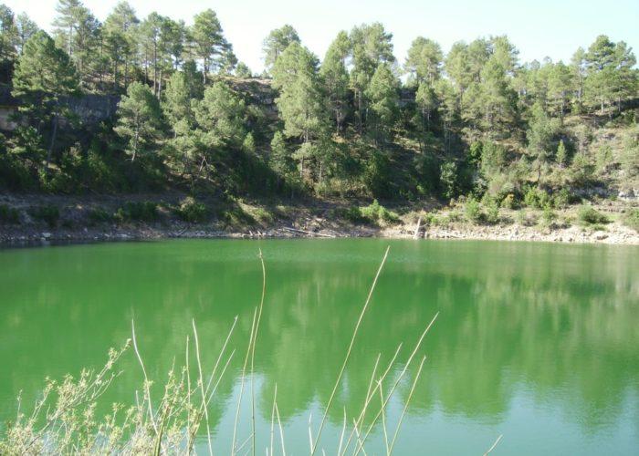 La Laguna Verde en Cañada del Hoyo