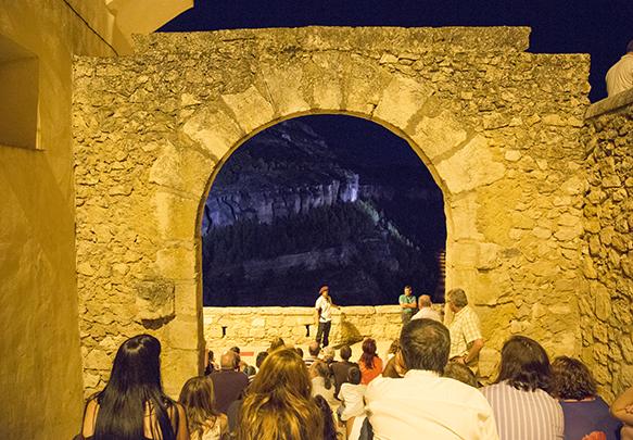 Visita Teatralizada de noche