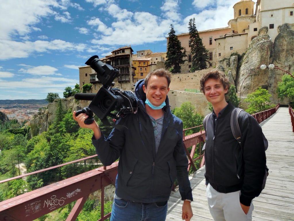 Televisión Francesa TF1 con Jurgen en Cuenca