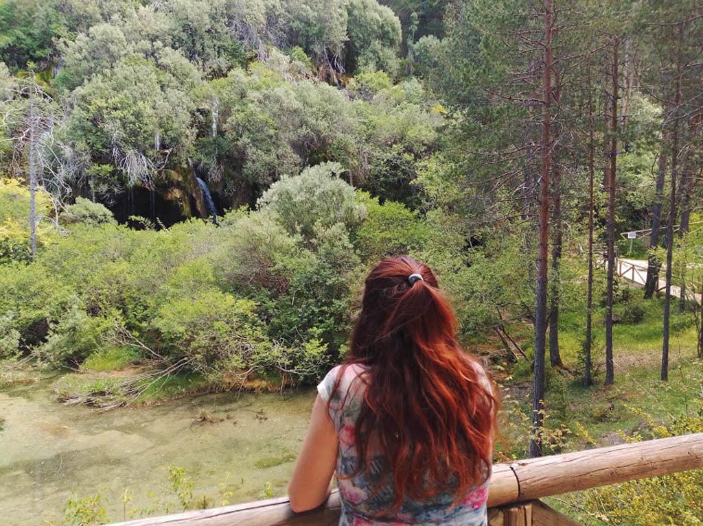 Vista al Nacimiento del Río Cuervo