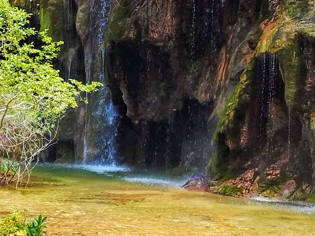 La Cascada del Nacimiento del Río Cuervo