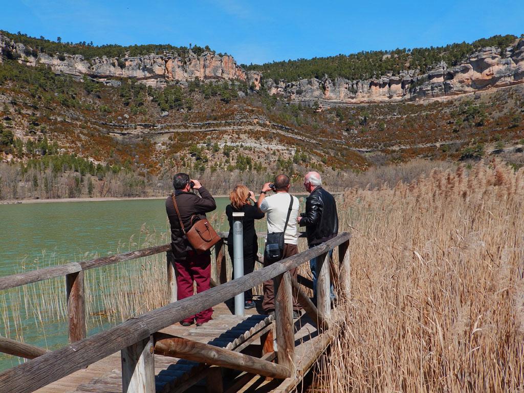 Laguna de Uña con observación de aves