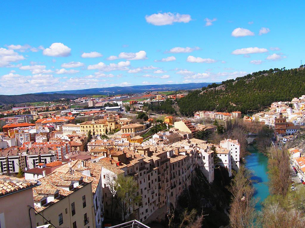 Vistas sobre el Júcar en Free Tour Cuenca