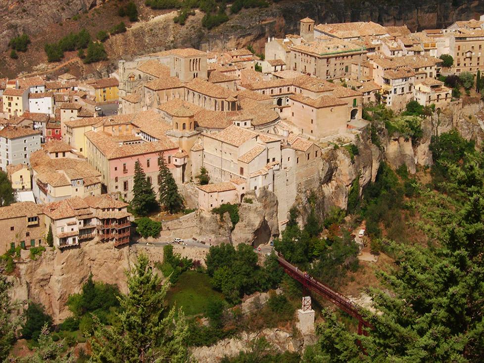 Vista de las Casas Colgadas