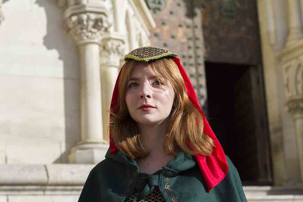La reina Leonor en la Catedral