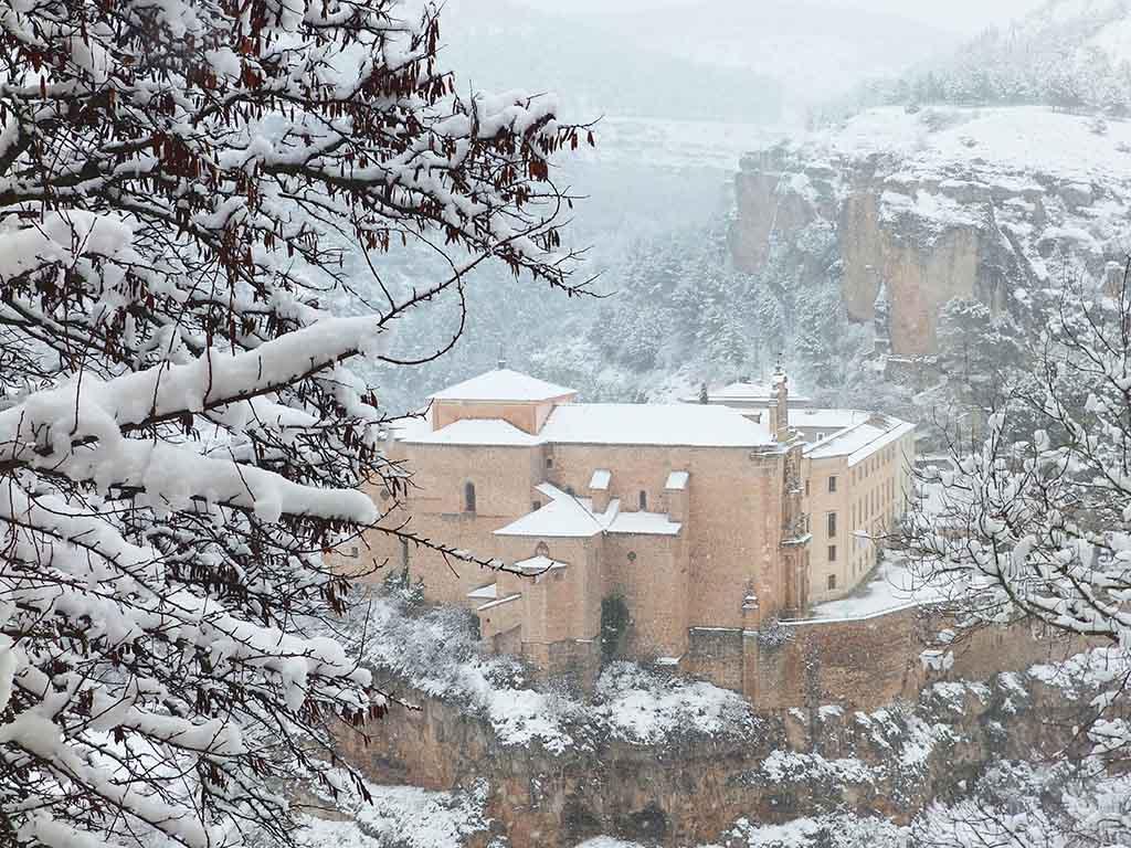 El Convento de San Pablo nevado