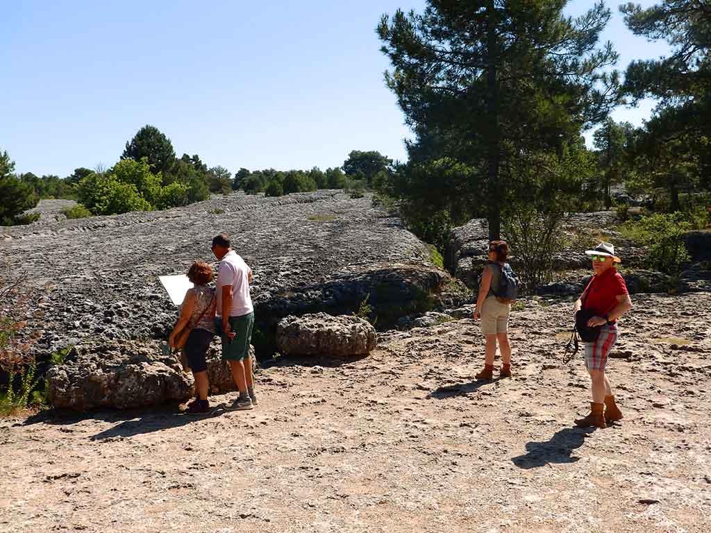 Ciudad Encantada de Cuenca con Mar de Piedra