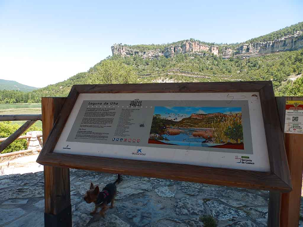 Mirador de la Laguna de Uña con vistas